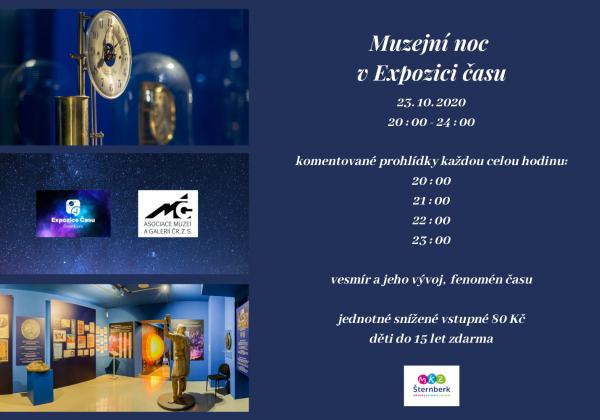 Muzejní noc v Expozici času