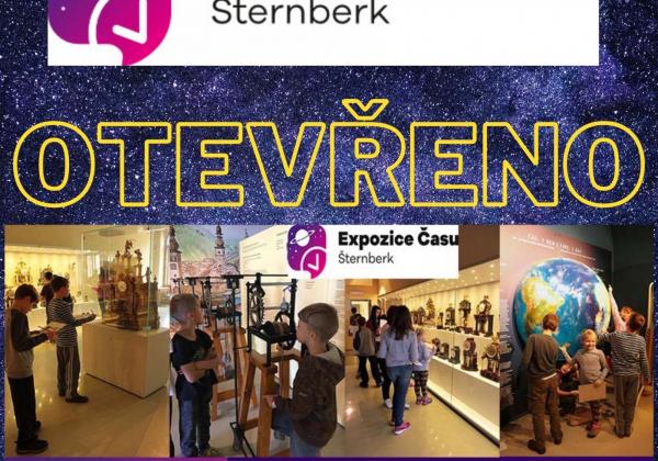 Expozice času otevřena do 17.12.2020