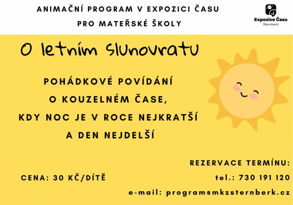 Slunovratový animační program pro mateřské školy